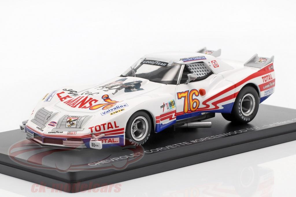 spark-1-43-chevrolet-corvette-no76-24h-lemans-1976-greenwood-darniche-ck59755/