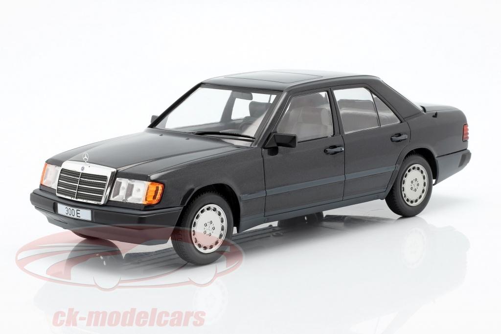 modelcar-group-1-18-mercedes-benz-300-e-w124-annee-de-construction-1984-noir-metallique-mcg18206/