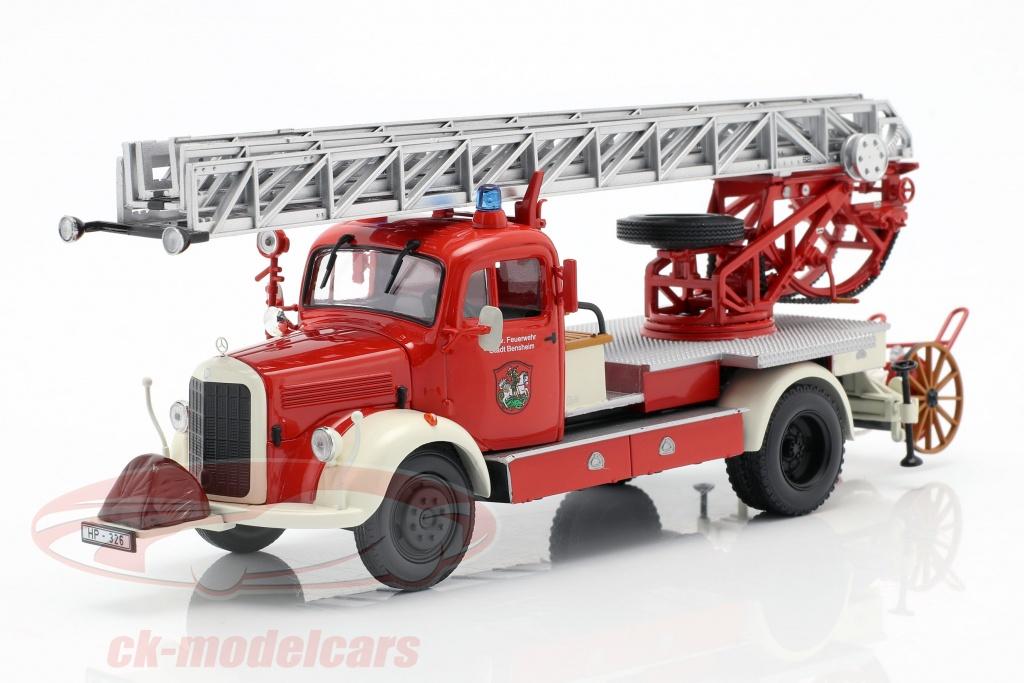 minichamps-1-43-mercedes-benz-l3500-vigili-del-fuoco-bensheim-anno-di-costruzione-1950-rosso-bianco-439350081/