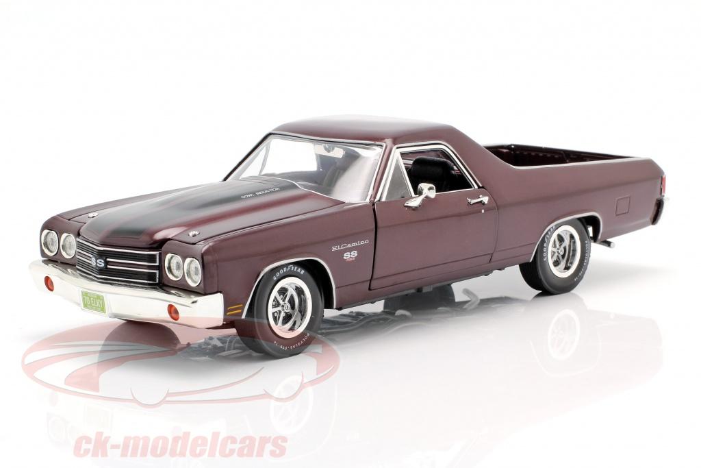 autoworld-1-18-chevrolet-el-camino-pick-up-bouwjaar-1970-donker-rood-metaalachtig-amm1161-06/
