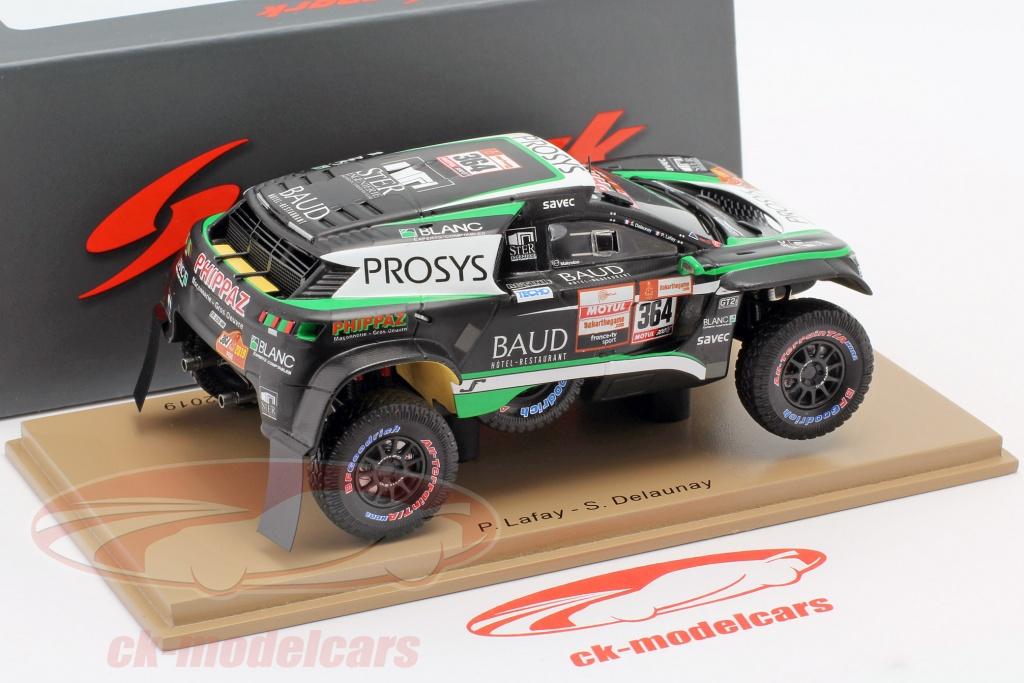 Peugeot 3008 DKR rally dakar 2019 Lafay//Delaunay # 364 1:43 Spark 5630 nuevo