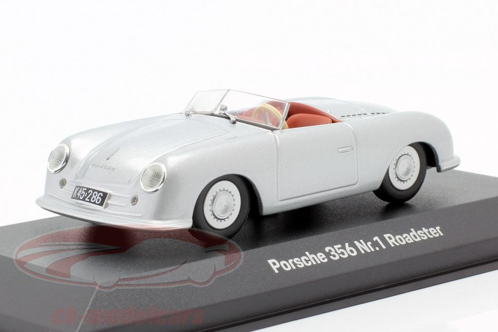 minichamps-1-43-porsche-356-nr1-roadster-1948-70-anniversario-argento-map02000118/