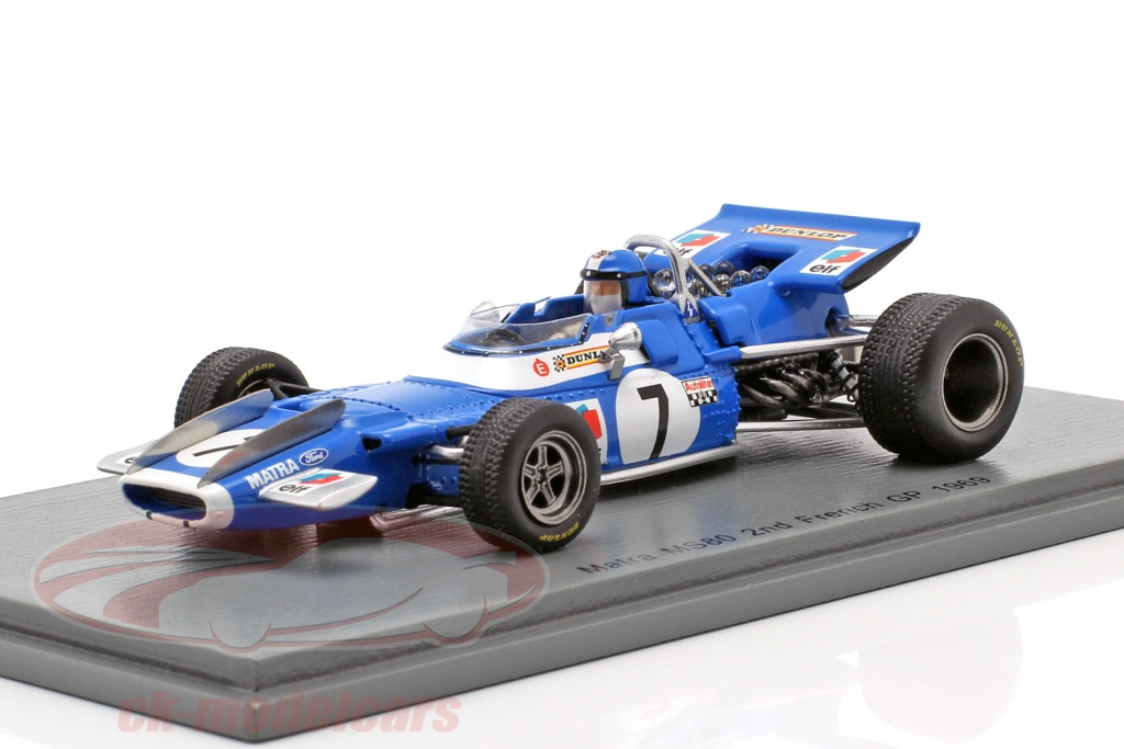 spark-1-43-jean-pierre-beltoise-matra-ms80-no7-2nd-french-gp-formula-1-1969-s7193/