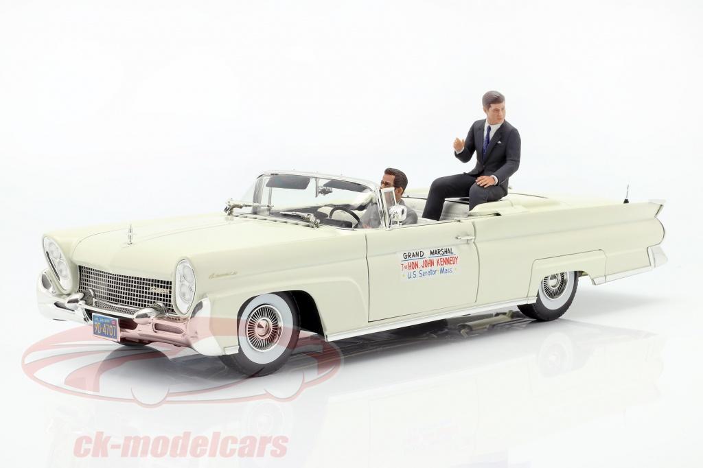 sun-star-models-1-18-lincoln-continental-mk-iii-convertibile-1958-j-f-kennedy-con-figurine-4707/