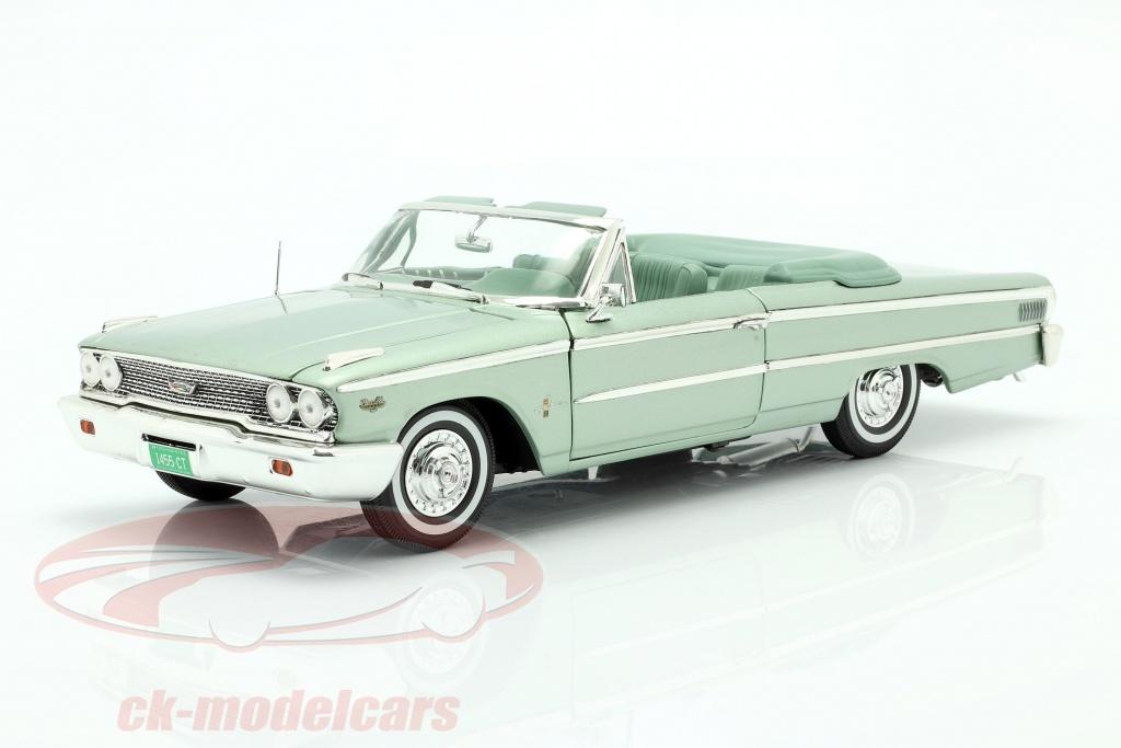 sun-star-models-1-18-ford-galaxie-500-xl-open-convertible-1963-moss-green-1455/
