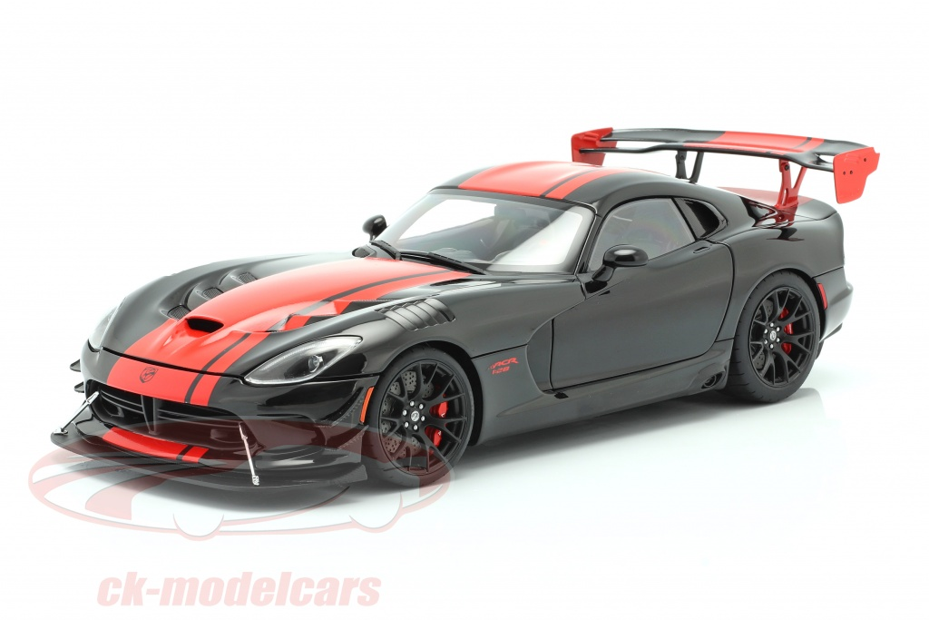 autoart-1-18-dodge-viper-acr-year-2017-black-red-71732/