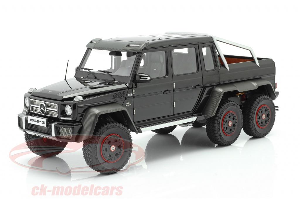 autoart-1-18-mercedes-benz-g63-amg-6x6-bouwjaar-2013-glans-zwart-76306/