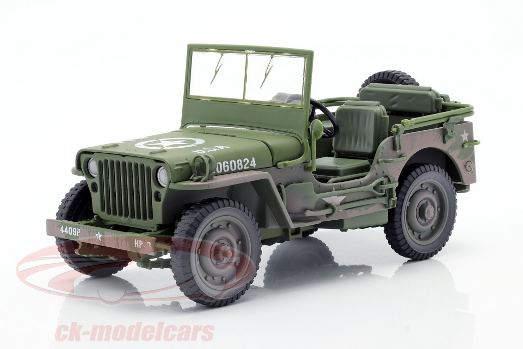 autoworld-1-18-willys-mb-jeep-4x4-us-army-bygger-1941-oliven-grn-dirty-version-awml005b/