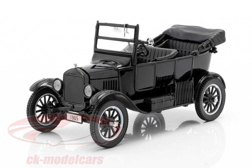 sun-star-models-1-24-ford-model-t-annee-de-construction-1925-avec-2-figurines-laurel-hardy-1905/