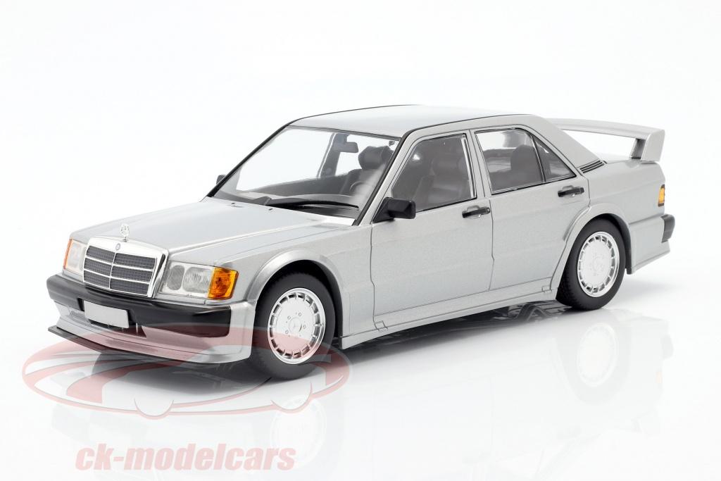 minichamps-1-18-mercedes-benz-190e-25-16v-evo-1-1989-silver-metallic-155036001/