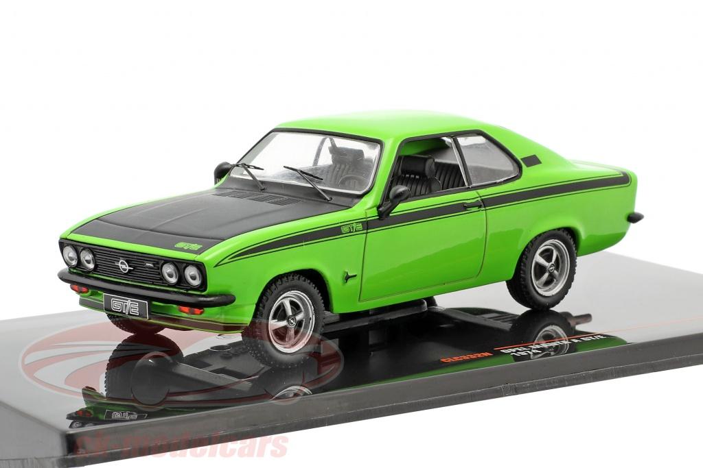 ixo-1-43-opel-manta-a-gt-e-bouwjaar-1974-groen-zwart-clc332n/