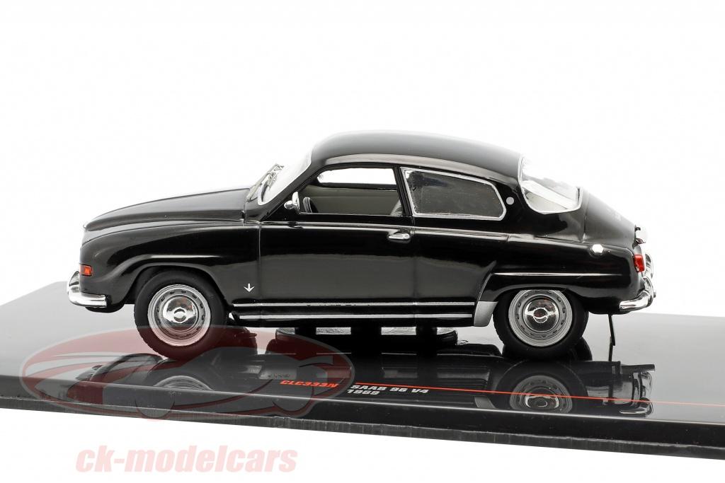 Saab 96 v4 1969 negro maqueta de coche 1:43 Ixo Models