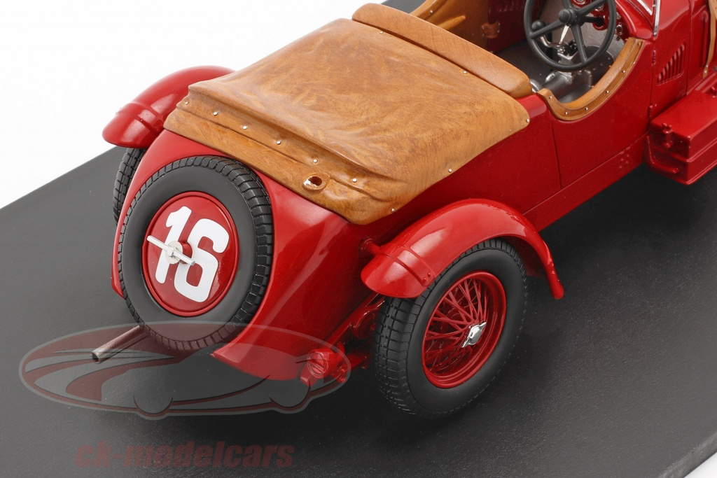spark-1-18-alfa-romeo-8c-2300-lm-no16-winner-24h-lemans-1931-howe-birkin-2-choice-ck60036/
