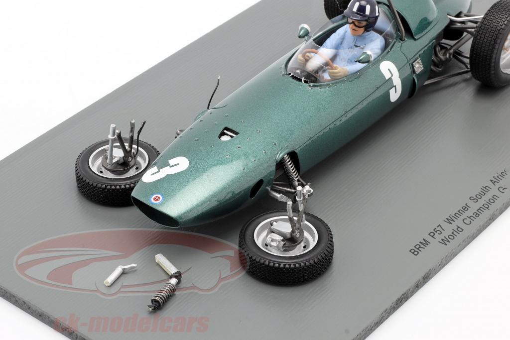 spark-1-18-graham-hill-brm-p57-no3-world-champion-south-africa-gp-formula-1-1962-2-choice-ck60037/