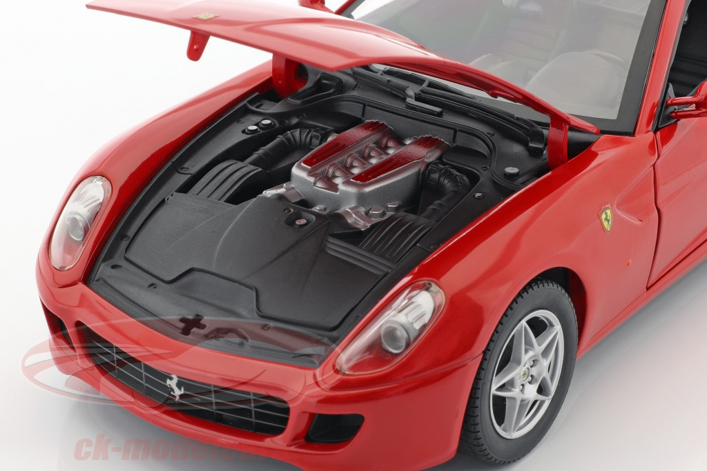 Hotwheels 1 18 Ferrari 599 Gtb Fiorano Baujahr 2006 Rot P4398 Modellauto P4398 027084740073