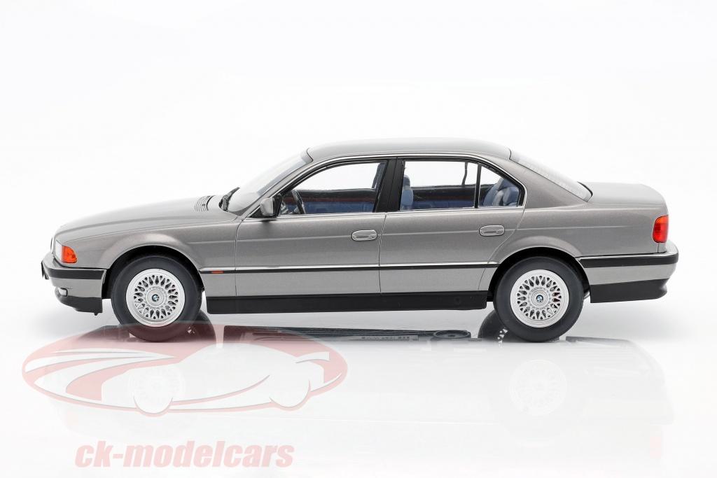 BMW Series 740i E38 Mki 1 1994 Limousine Grey Metallic Diecast 1:18 Kk-Scale