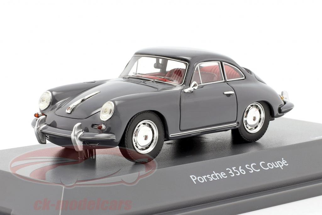 schuco-1-43-porsche-356-sc-coupe-anno-di-costruzione-1961-1963-grigio-450879500/