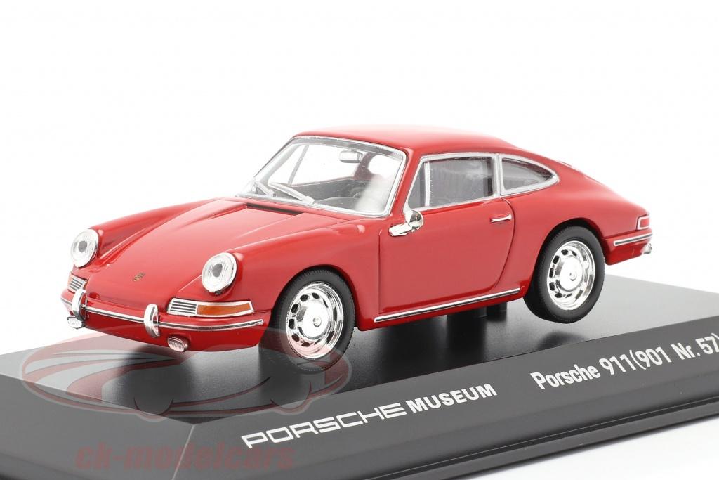 welly-1-43-porsche-911-901-nr-57-year-1964-red-map01991118/