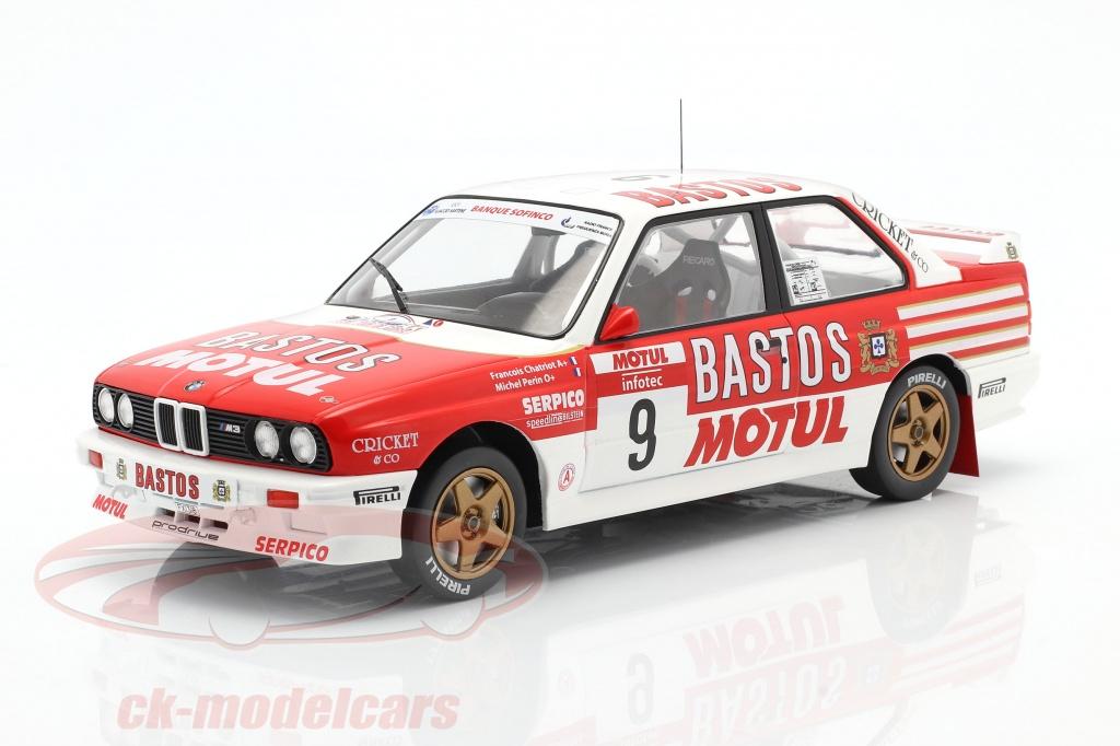 ixo-1-18-bmw-m3-e30-no9-4to-rallye-tour-de-corse-1988-chatriot-perin-18rmc040b/