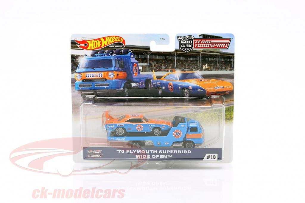 hotwheels-1-64-set-team-transport-plymouth-superbird-1970-wide-open-fyt07-no18-flf56/