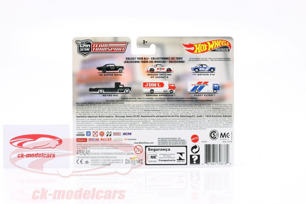Team Transport  Nissan Skyline HT 2000GT-X Sakuta Sprinter JDM L #8 1:64 Hot whe