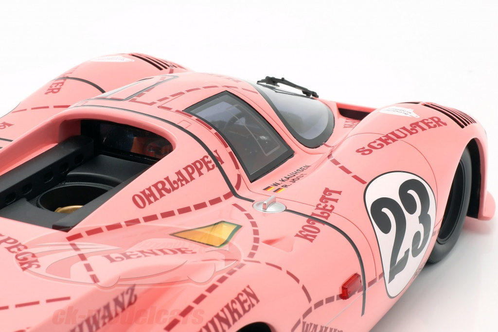 Porsche 917//20 Pink Pig #23 24h LeMans 1971 Kauhsen Joest 1:12 CMR