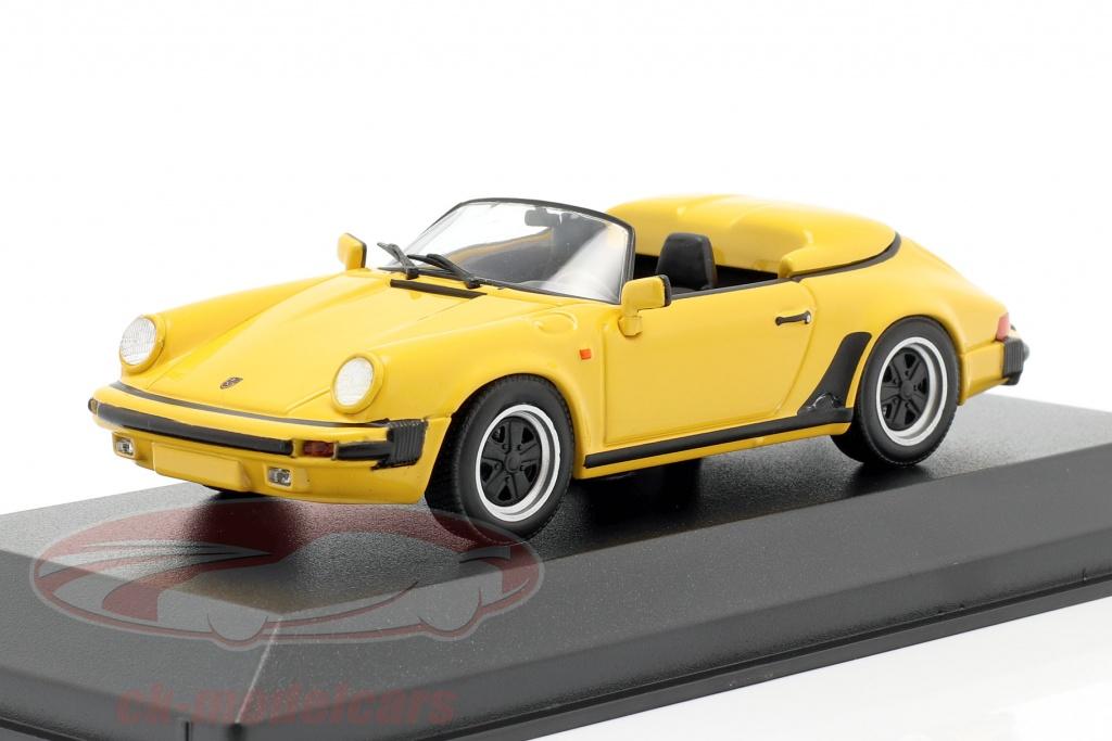 minichamps-1-43-porsche-911-speedster-annee-de-construction-1988-jaune-940066131/