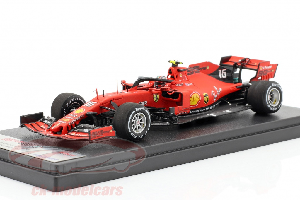 looksmart-1-43-charles-leclerc-ferrari-sf90-no16-ganador-italiano-gp-formula-1-2019-lsf1024/