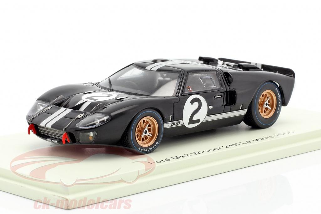 spark-1-43-ford-gt40-mk2-no2-ganador-24h-lemans-1966-mclaren-amon-43lm66/