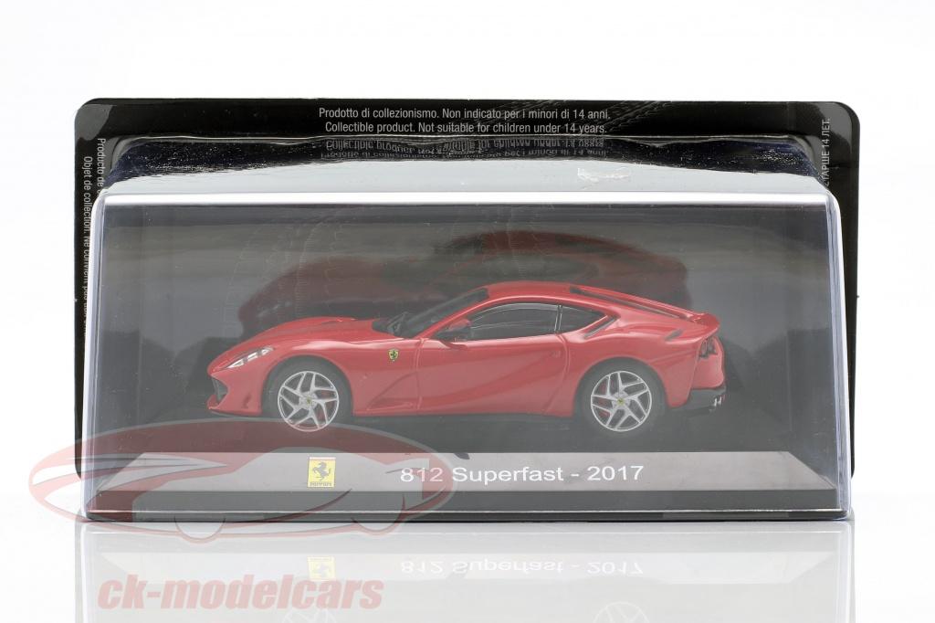 1:43 Altaya ferrari 812 Super casi 2017 en blíster by Raceface-modelcars
