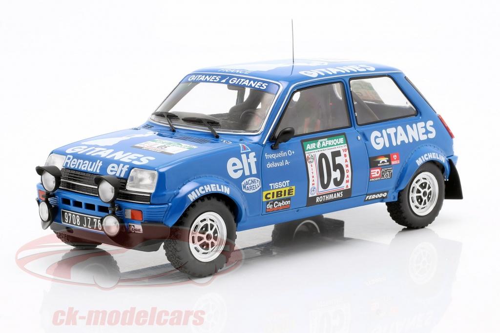 ixo-1-18-renault-5-alpine-no5-5e-rallye-cte-dno39ivoire-1978-frequelin-delaval-18rmc043b/