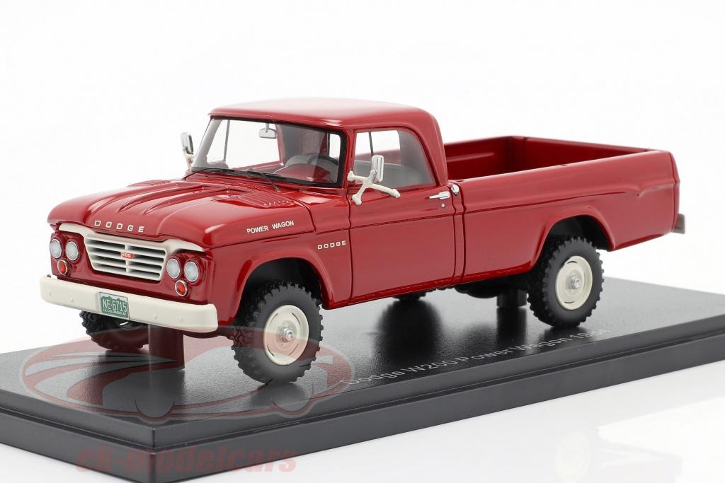neo-1-43-dodge-w200-power-wagon-ano-de-construccion-1964-rojo-neo46715/