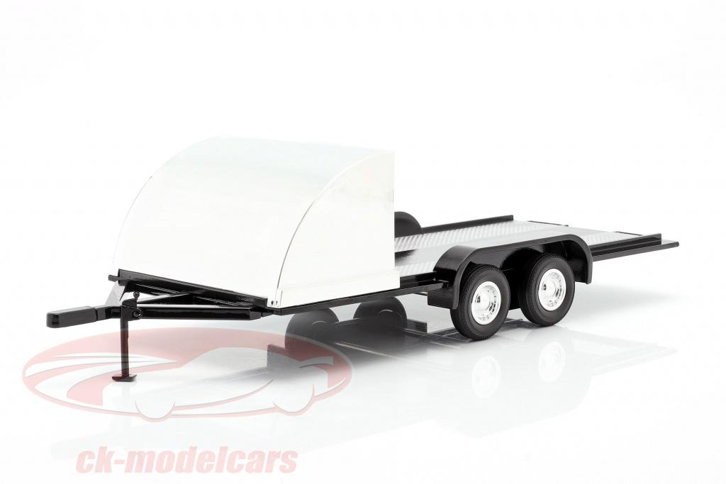 autoworld-quatro-roda-aberto-carro-trailer-preto-cromado-1-18-amm1166/