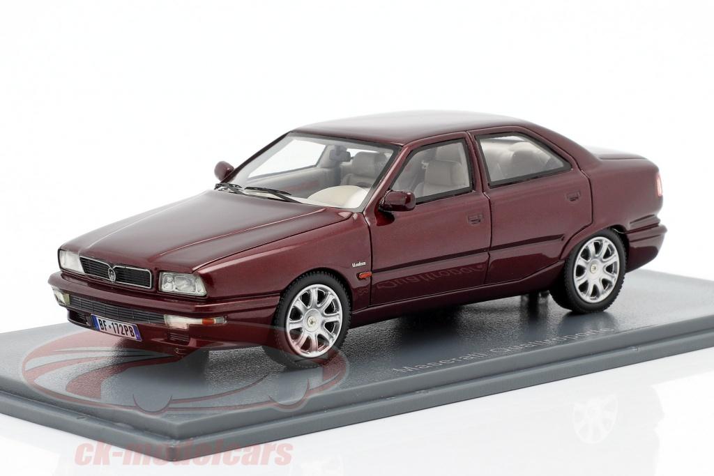 neo-1-43-maserati-quattroporte-iv-annee-1994-2001-pourpre-metallique-neo45172/