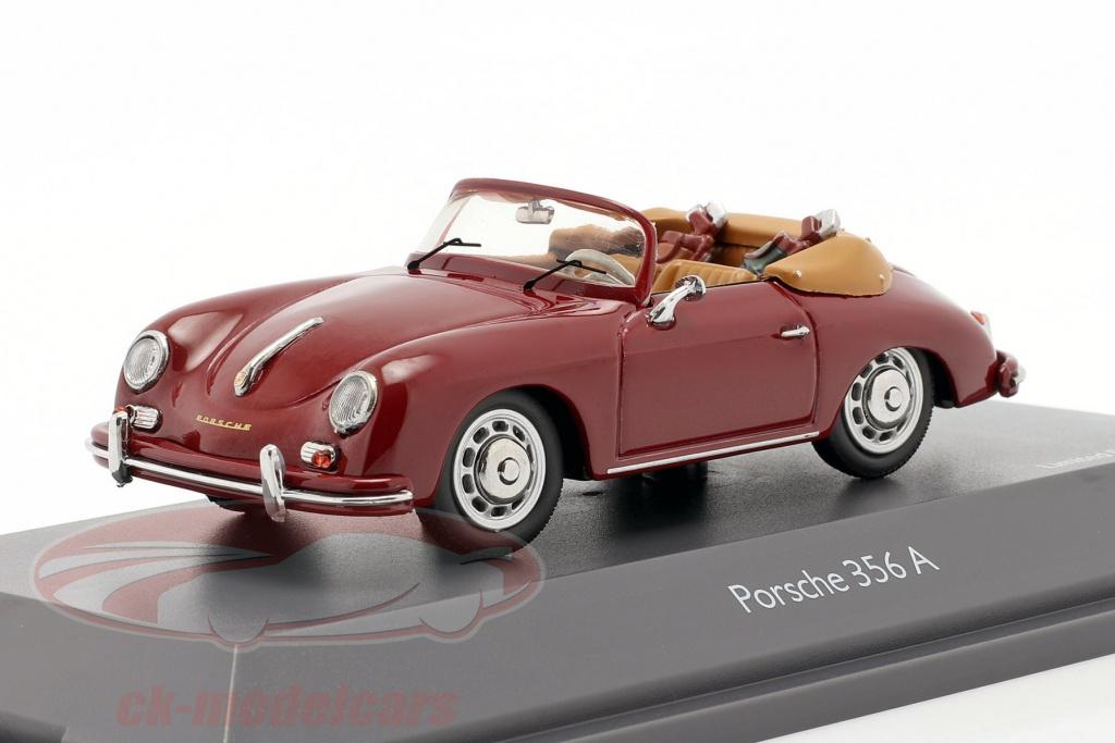 schuco-1-43-porsche-356a-cabriolet-golf-donker-rood-450268800/