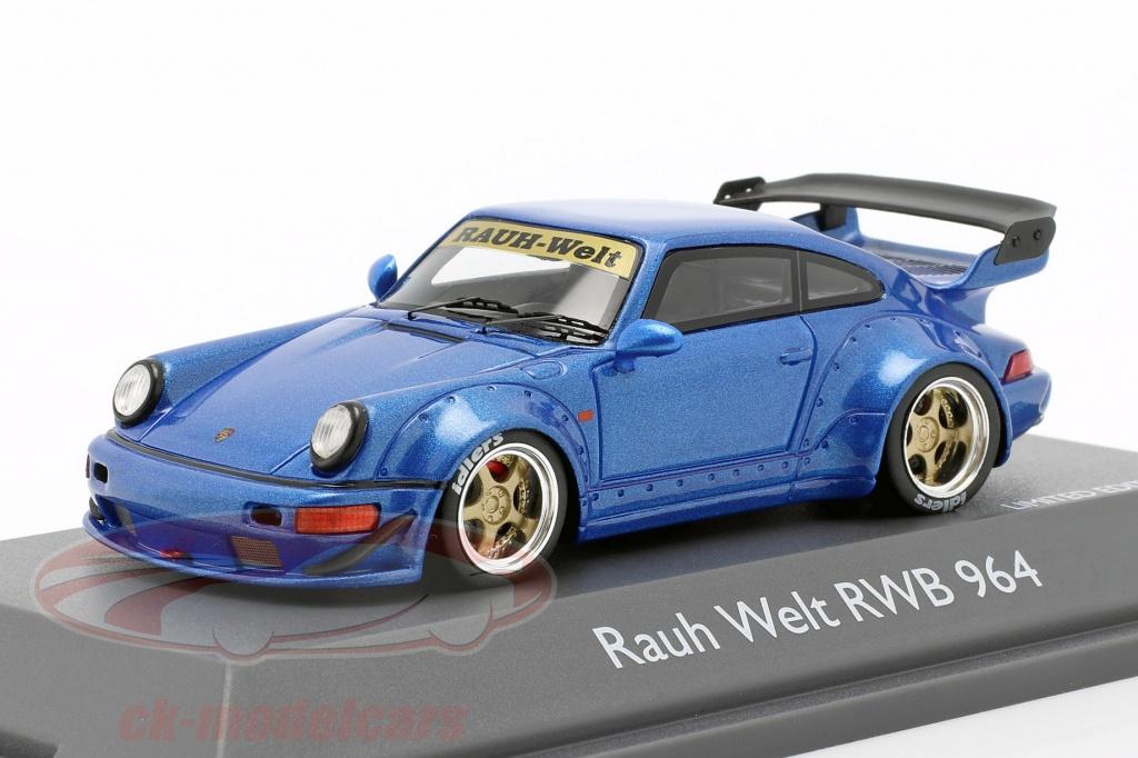 schuco-1-43-porsche-911-964-rwb-rauh-welt-blauw-metallic-450911400/