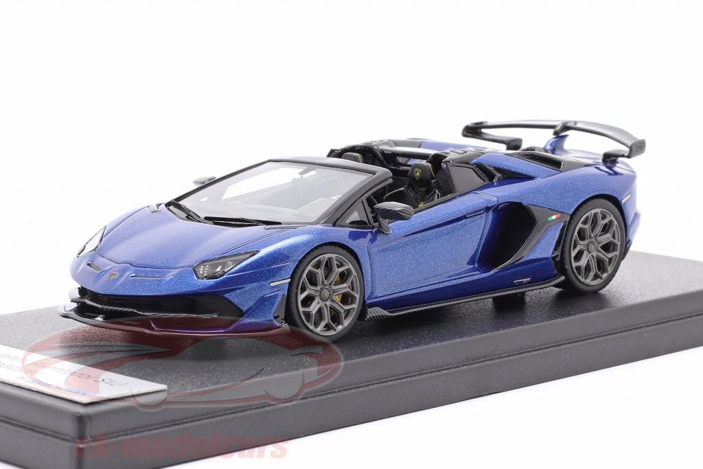 looksmart-1-43-lamborghini-aventador-svj-ano-de-construccion-2019-caelum-azul-metalico-ls501f/