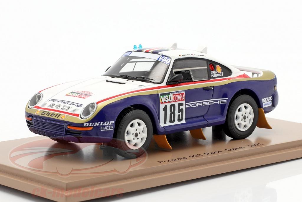 spark-1-43-porsche-959-no185-rallye-paris-dakar-1985-ickx-brasseur-s7817/