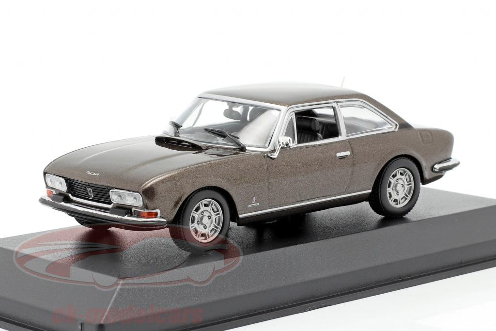 minichamps-1-43-peugeot-504-coupe-bouwjaar-1976-bruin-metallic-940112120/