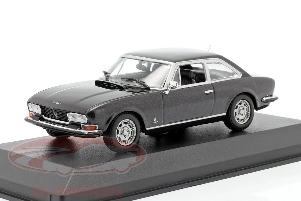 minichamps-1-43-peugeot-504-coupe-anno-di-costruzione-1976-grigio-scuro-metallico-940112121/