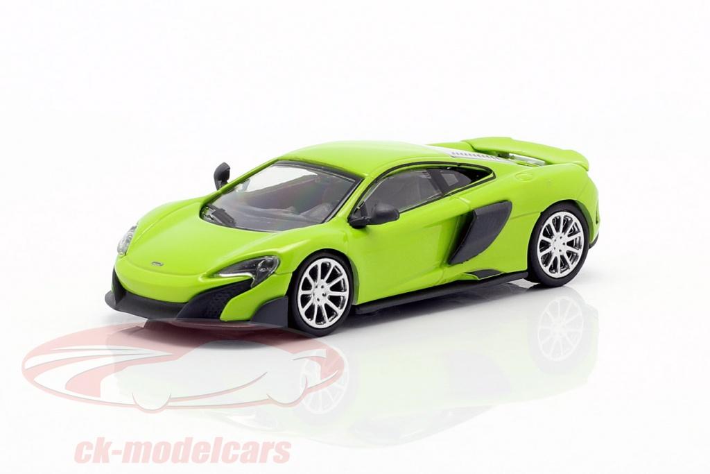 Minichamps McLaren 570S #870154542 Grün 1:87