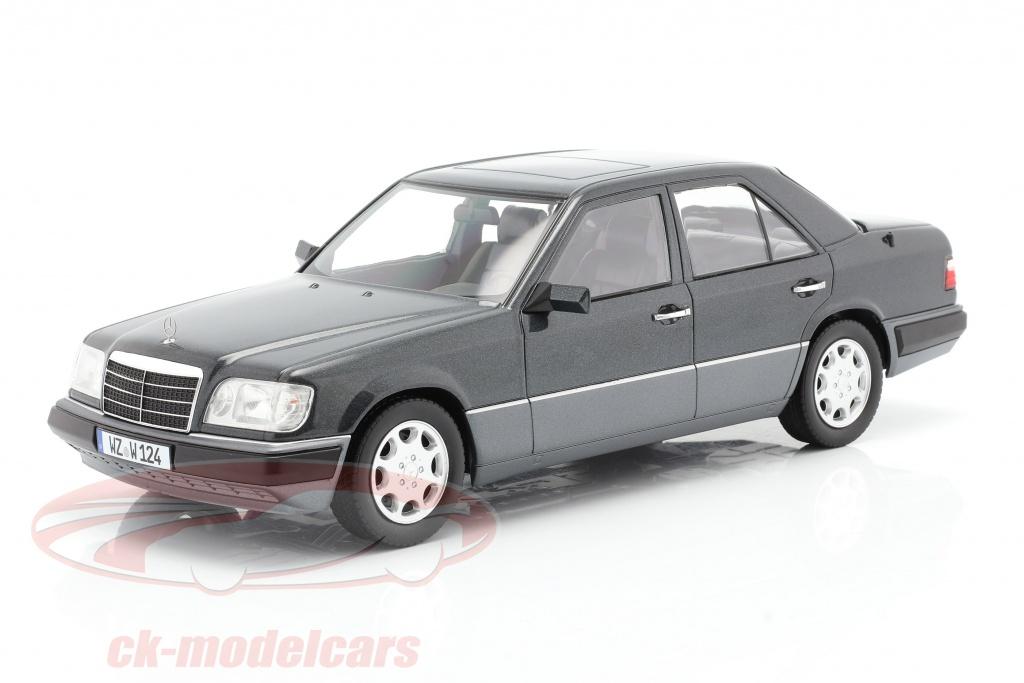 W124 Baujahr 1989 rauchsilber 1:18 iScale Mercedes-Benz E-Klasse