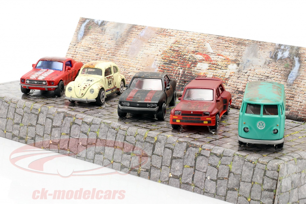 majorette-1-64-5-car-set-vintage-rusty-set-regalo-212052012/
