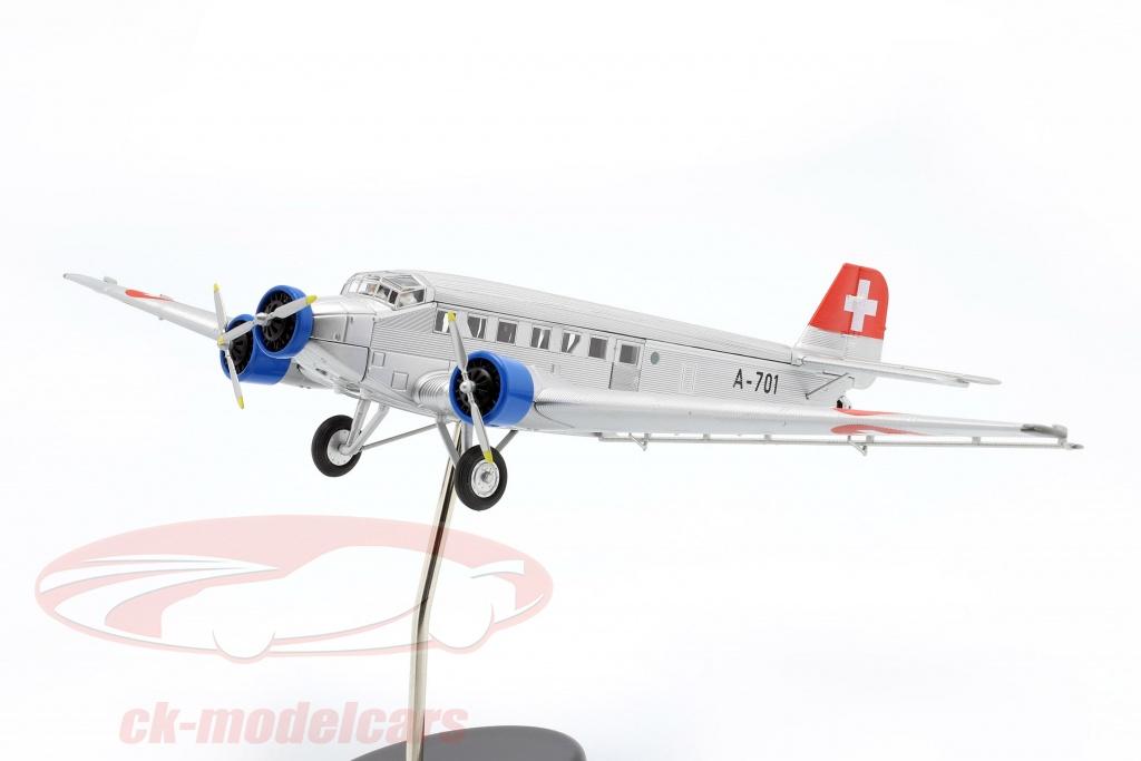 schuco-1-72-junkers-ju52-3m-fly-1932-52-schweizisk-luftvben-403551901/