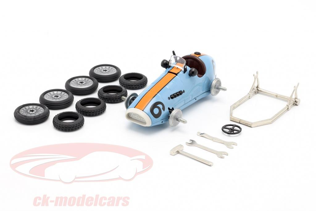 schuco-grand-prix-racer-no6-construction-kit-gulf-blue-orange-450109200/