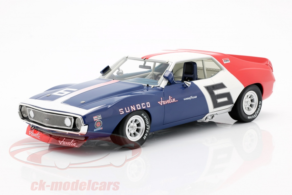 real-art-replicas-1-18-amc-javelin-no6-trans-am-campeon-1971-mark-donohue-rar18005/