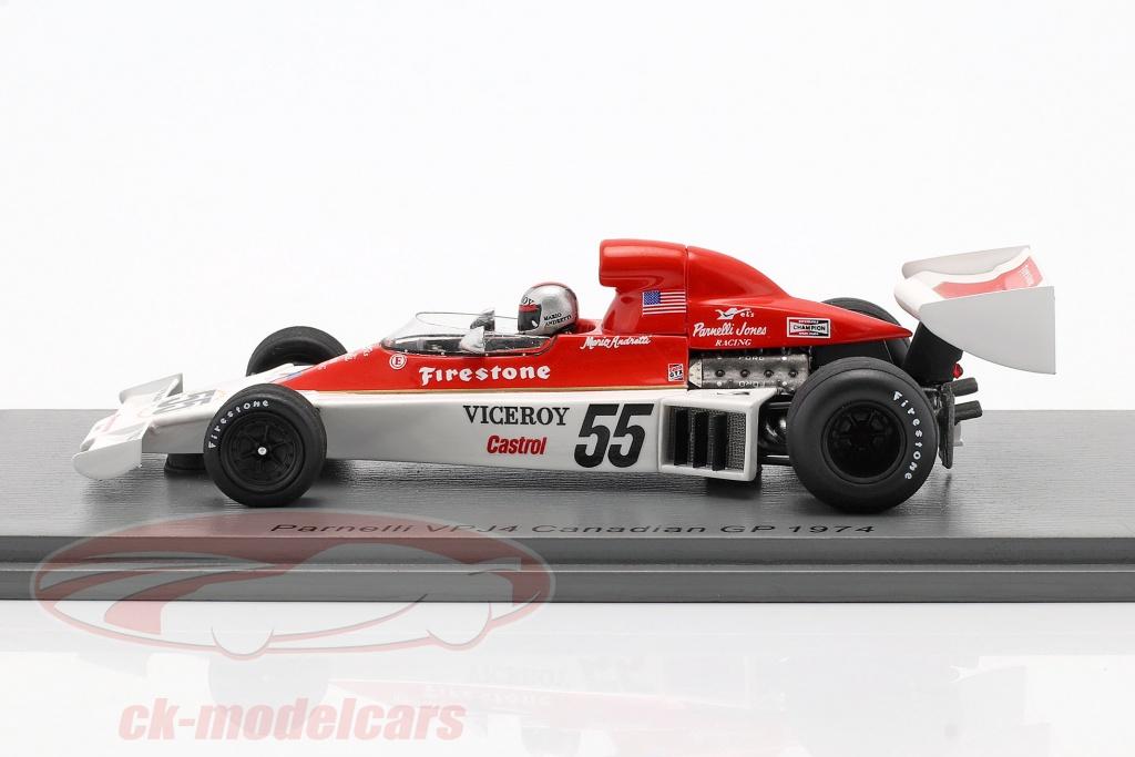 Parnelli F1 Vpj4 #27 Sweden Gp 1975 M.Andretti SPARK 1:43 S1892