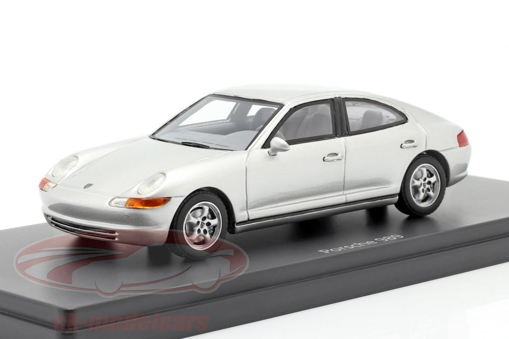 autocult-1-43-porsche-989-prototipo-ano-de-construcao-1988-prateado-90142/