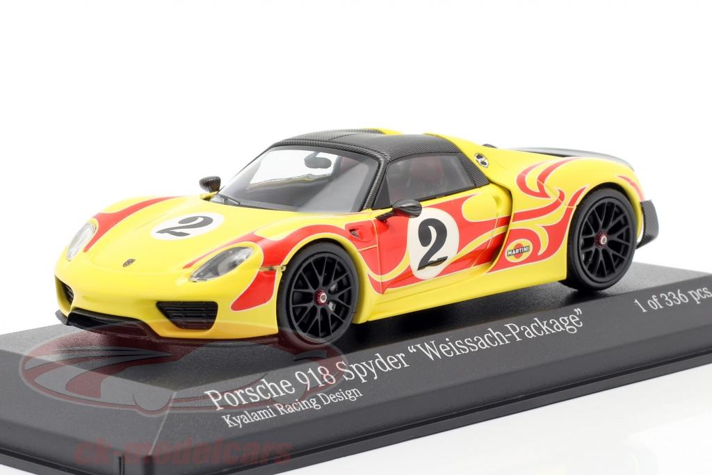 minichamps-1-43-porsche-918-spyder-weissach-package-kyalami-racing-design-ano-de-construccion-2015-amarillo-rojo-410062134/