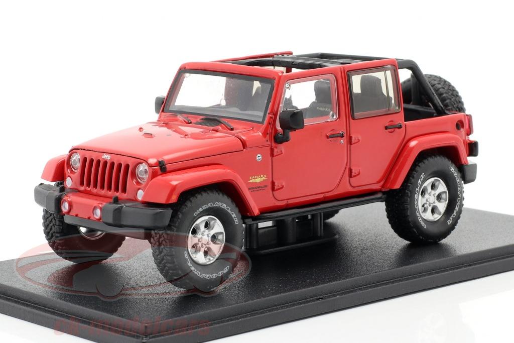 greenlight-1-43-jeep-wrangler-unlimited-sahara-anno-di-costruzione-2017-rosso-86177/